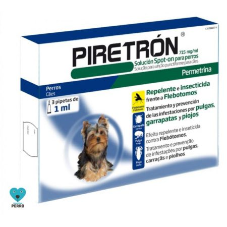 PIRETRON 1 ML 3 PIPETAS