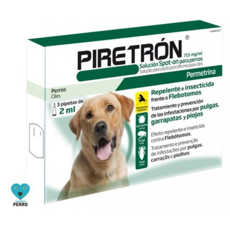 PIRETRON 2 ML 3 PIPETAS
