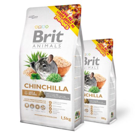 Brit Animals Chinchilla Complete 300 Gr