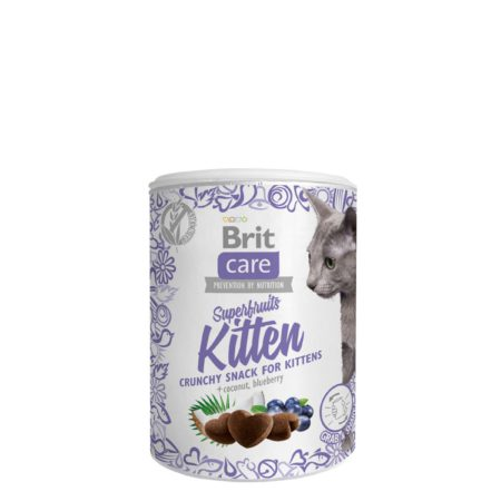 Brit Care Snack Superfruits Kitten 100 G