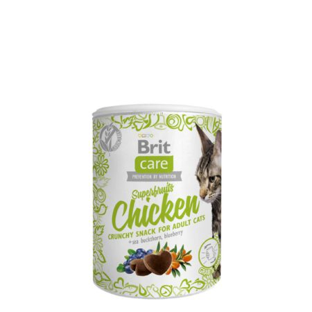 Brit Care Snack Superfruits Chicken 100 G