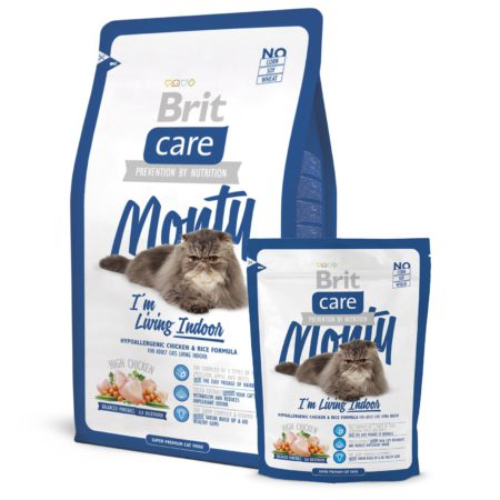 Brit Care Cat Monty Indoor 400 Gr