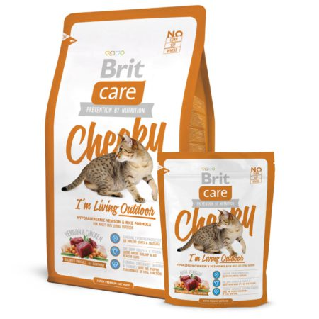 Brit Care Cat Cheeky Outdoor 400 Gr