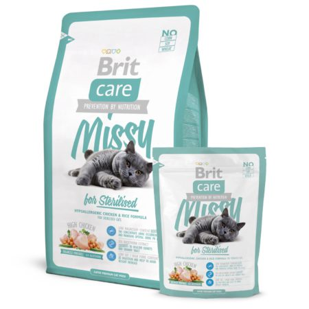 Brit Care Cat Missy Steril 400 Gr