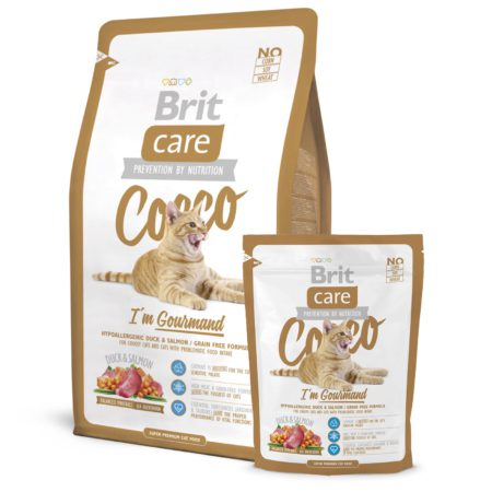 Brit Care Cat Coco Gourman 400 Gr