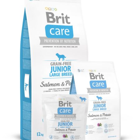 BRIT CARE SALMON JUNIOR LARG. 1 KG