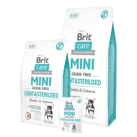 Brit Care Mini Grain Free Light & Sterilised 400 g