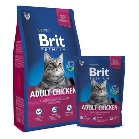 Brit Premium Cat Adult Chiken 1.5 Kg