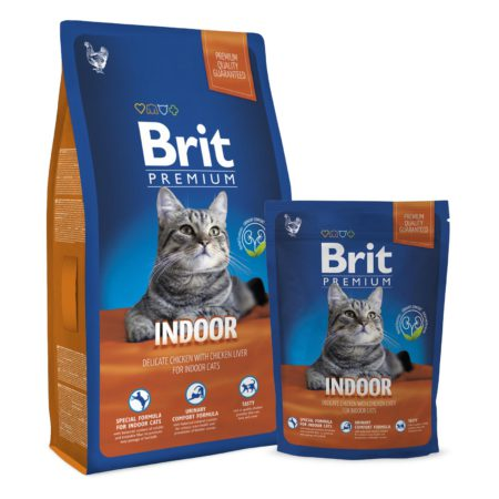 Brit Premium Cat Indoor 1.5  Kg
