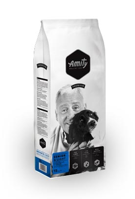 Amity Premium Senior Light 15 Kg